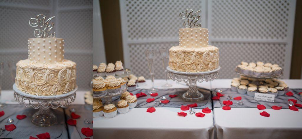 wedding cake manhattan kansas wedding