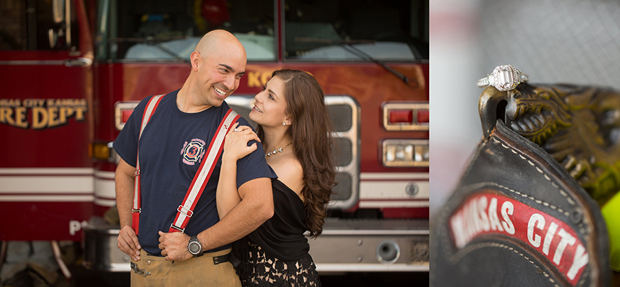 fire station engagement kansas city kansas