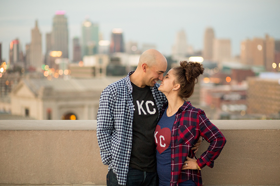 KC Shirts Engagement Session