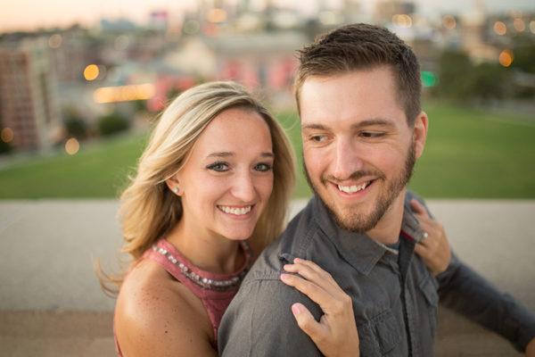 Cuddle Engagement Session Kansas City