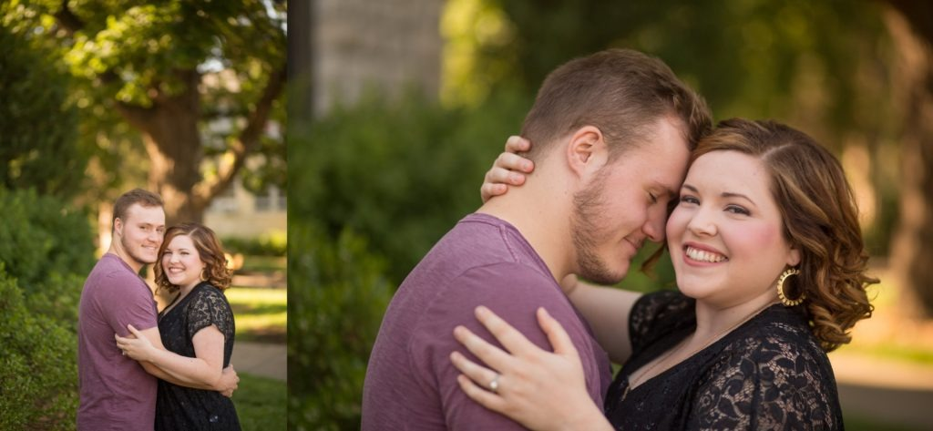 engagement session manhattan kansas