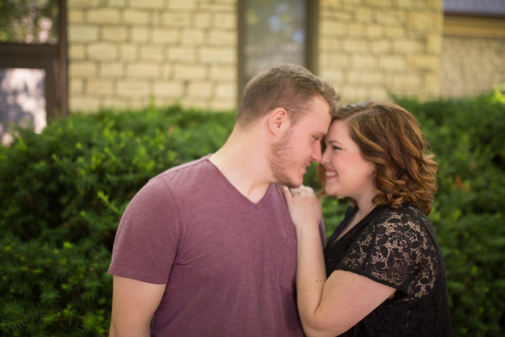 Kansas State University engagement session