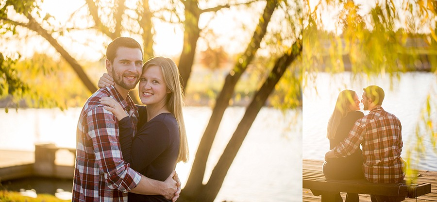 Son Wray Lake Engagement