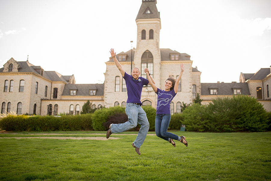 Anderson Hall Engagement Session