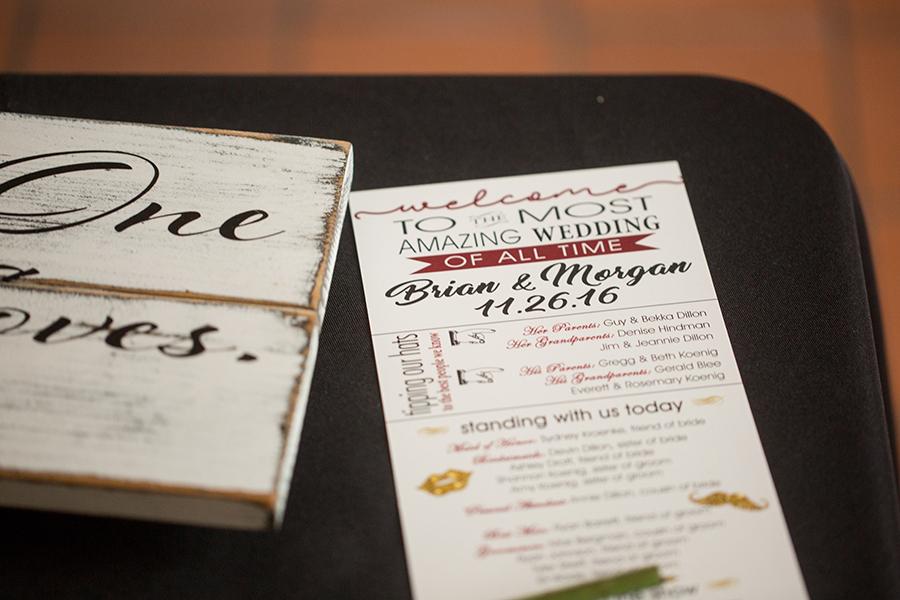 wedding details manahttan kansas