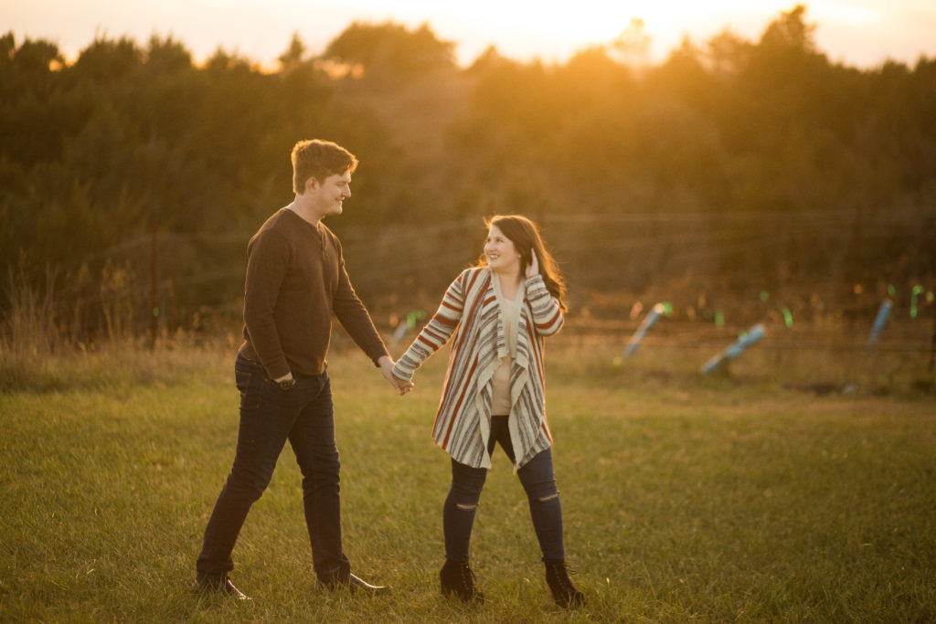 Liquid Art Winery Engagement Session